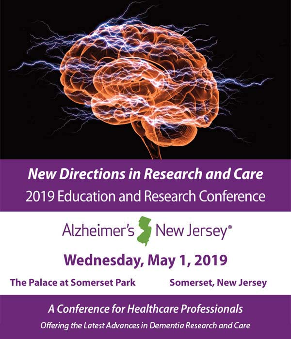 Education Conference 2019 - A Conference for Healthcare Professionals Offering the Latest Advances in Dementia Research and Care