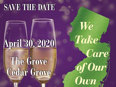 Taking Care of Our Own - a Gala to Benefit Alzheimer's New Jersey