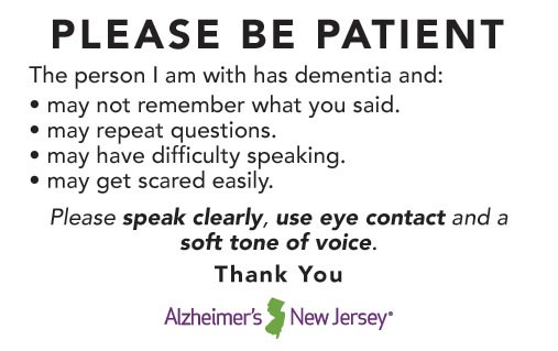 Be Patient Card